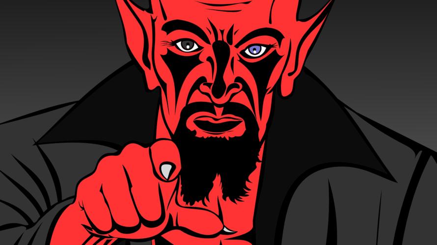 人間は誰かのせいにする悪魔?